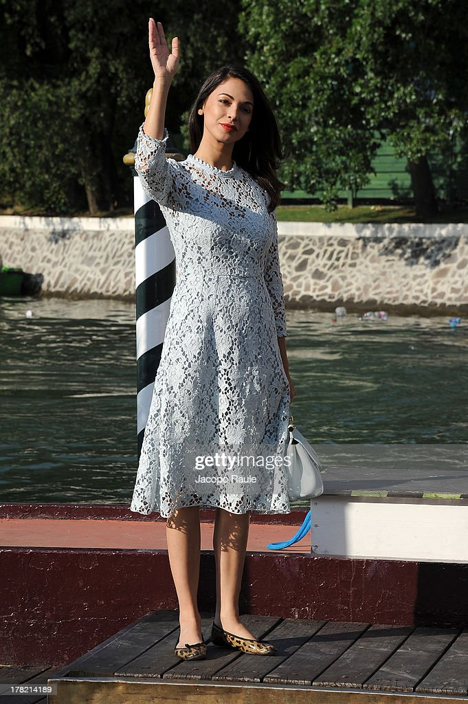 Celebrity Sightings At The 70th Venice International Film Festival - August 27, 2013