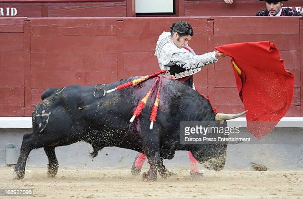 Morante de la Puebla attends San Isidro Bullfight 2013 at Plaza de Toros de Las Ventas on May 16 2013 in Madrid Spain