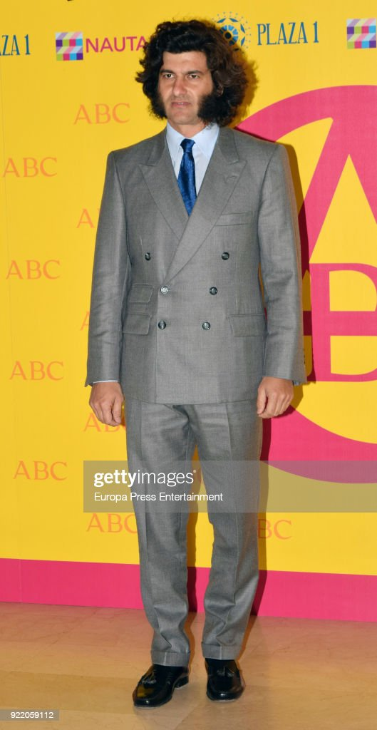 Morante de la Puebla attends the 'Premio Taurino ABC' awards at the ABC Library on February 20, 2018 in Madrid, Spain.