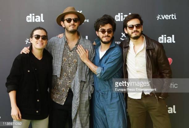 Morat attend 'Cadena Dial' Awards 2019 at Recinto Ferial Santa Cruz de Tenerife on March 14 2019 in Tenerife Spain