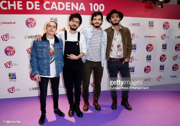 Morat attends 'La Noche De Cadena 100' charity concert at WiZink Center on March 23 2019 in Madrid Spain
