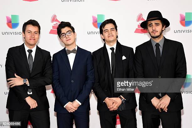 Morat attends The 17th Annual Latin Grammy Awards at TMobile Arena on November 17 2016 in Las Vegas Nevada