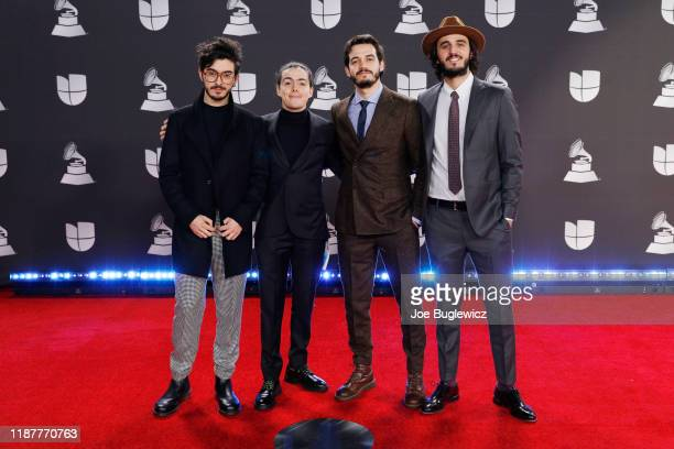 Morat attends the 20th annual Latin GRAMMY Awards at MGM Garden Arena on November 14 2019 in Las Vegas Nevada