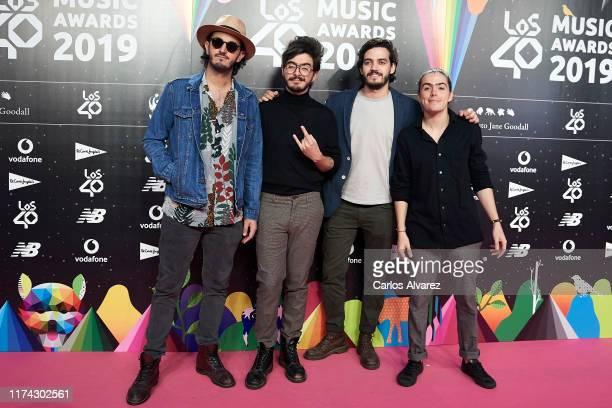 Morat attends the 40 Principales Awards nominated dinner at Florida Retiro on September 12 2019 in Madrid Spain