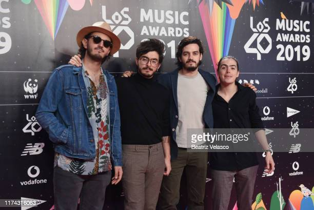 Morat attends the 40 Principales Awards nominated dinner at Florida Retiro on September 12 2019 in Madrid Spain