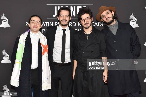 Morat attends the Latin Recording Academy's 2019 Person of the Year gala honoring Juanes at the Premier Ballroom at MGM Grand Hotel Casino on...