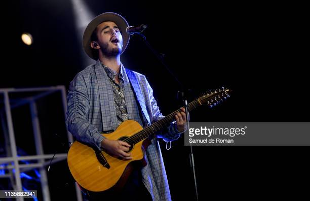 Morat performs at the Cadena Dial Awards on March 14 2019 in Tenerife Spain