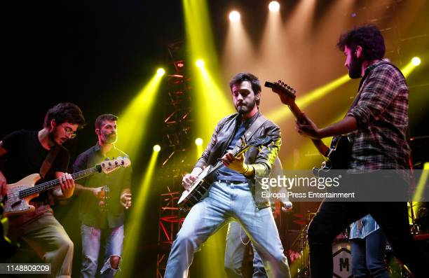 Morat performs at Wizink Center on May 12 2019 in Madrid Spain