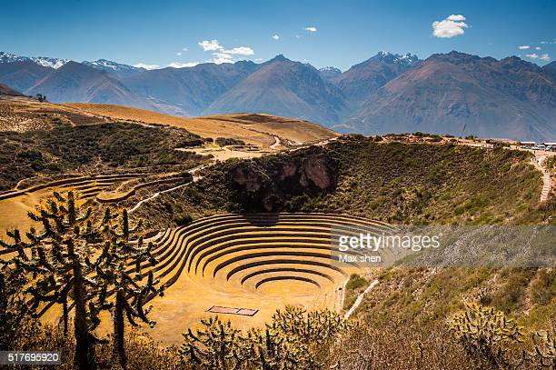 Moray, the Incan agricultural site in Peru