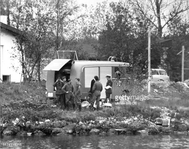 Seepolizei sucht nach der Leiche 1966