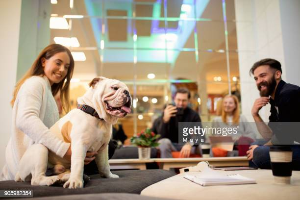 More companies are joining in to pet office policy.