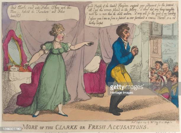 More of the Clarke or Fresh Accusations July 14 1809 Artist Thomas Rowlandson