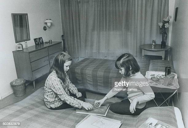 More room to spread out is what Darla LeMesurier 11 and sister Dawn 8 found when their mother moved from a $130 twobedroom apartment into an $85...