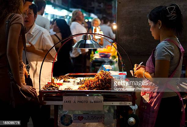 CONTENT] More scorpions for sale to eat deep fried maggots and cockroaches sounds lovely doesnt it Taken on Khao San Road Bangkok Thailand south east...