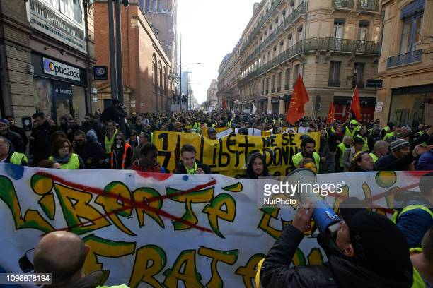 More tha 10 thousands people took part to the demo Act XIII dubbed 'Civil disobediencequot' of the Yellow Vest movement begun peacefully but the...