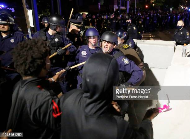 More than 1000 demonstrators swarmed Portlands streets Monday night to protest institutional racism and violence by police against people of color...