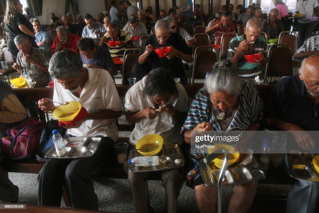 Hunger In Venezuela : News Photo