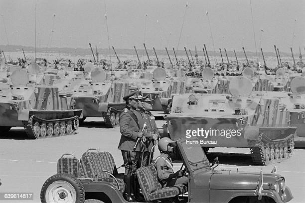More than 10000 soldiers000 tanks and armed vehicles hundreds of pieces of artillery and more than 200 planes were assembled in the middle of the...