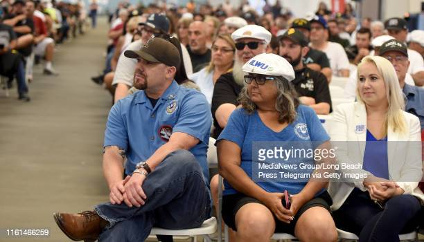 More than 1500 ILWU members and supporters showed up for another Harbor Commission meeting to vote on the appeal regarding the permit allowing...