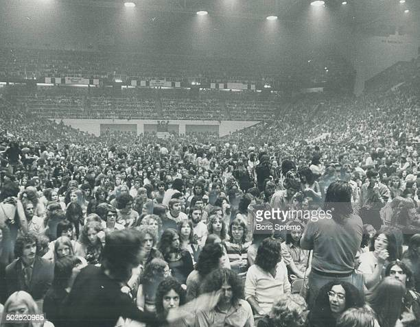 More than 17000 fans of the Rolling Stones packed Maple Leaf Gardens for eac of two concerts Saturday by th British rock group Thousands of others...