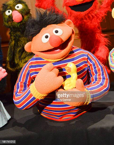 More than 20 puppets and props donated from the Jim Henson Family including Miss Piggy Elmo Ernie Bert Cookie Monster Count Von Count and Prairie...