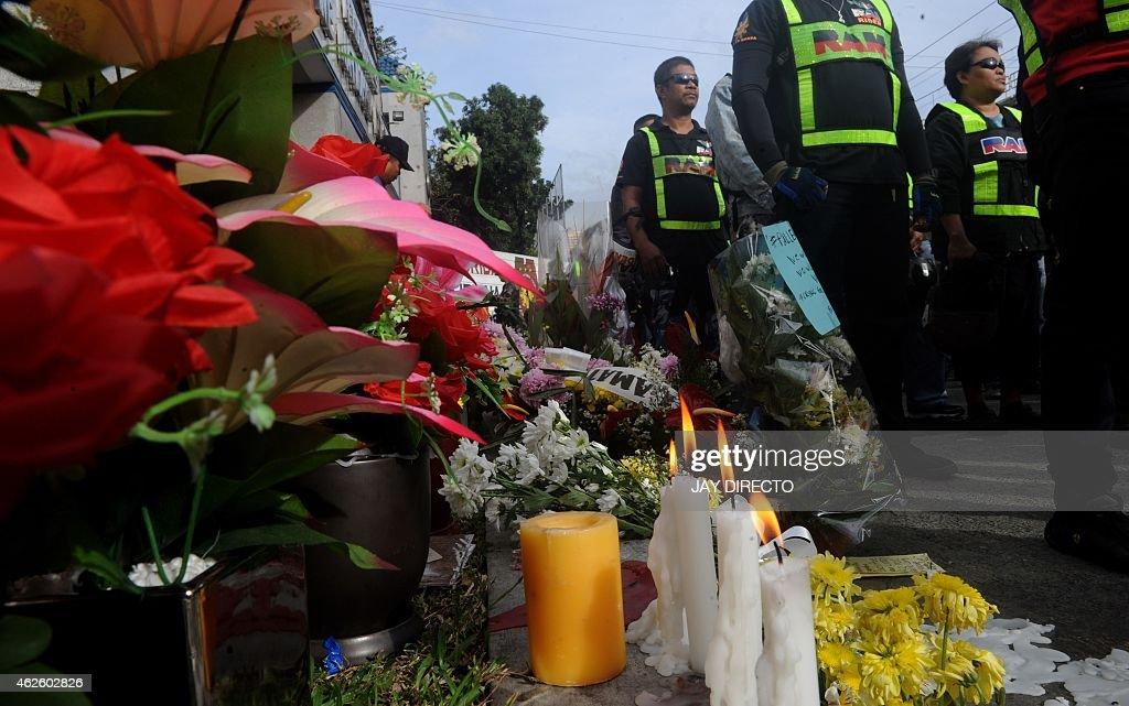 PHILIPPINES-UNREST-POLICE-REBELLION : News Photo