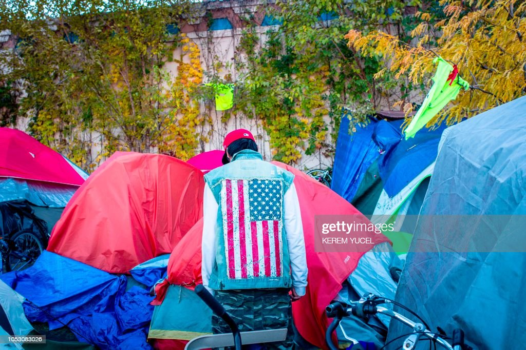 TOPSHOT-US-POLITICS-VOTE-Minnesota-homelessness-DRUGS : News Photo