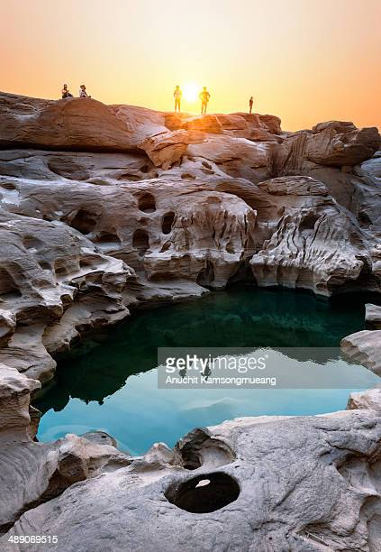 More than 3,000 pools and will appear in the dry season , the water dry up. Rocks , they will emerge from the water like a mountain in the middle of...