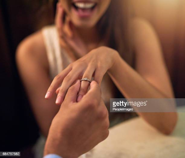 more than a proposal, it's a life long promise - fidanzato foto e immagini stock