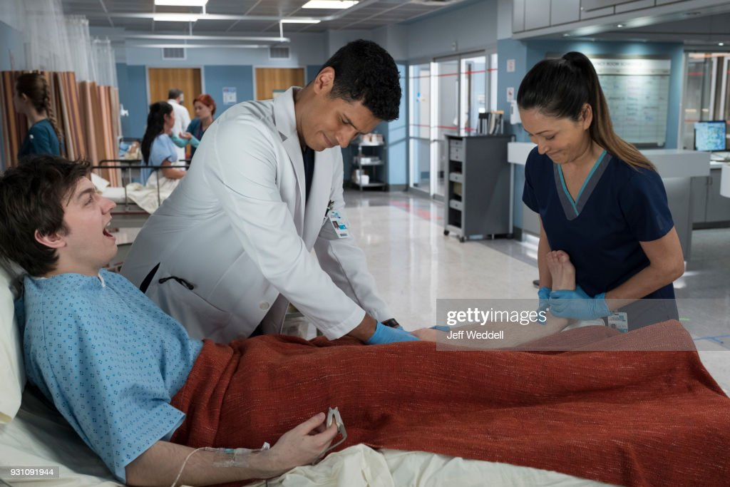 DOCTOR - 'More' - The team at St. Bonaventure needs to quickly discover the truth behind a young college student's unexplained injuries before his condition worsens. Meanwhile, after losing his most prized possession, Shaun's distraction during a surgical procedure may end up risking more than just his job, on the season one finale of 'The Good Doctor,' MONDAY, MARCH 26 (10:00-11:00 p.m. EDT), on The ABC Television Network. DONNIE