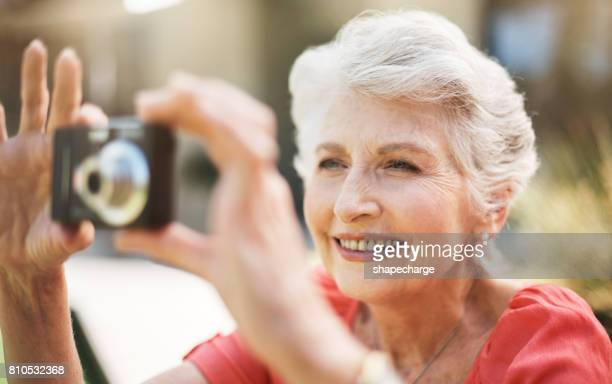 Más tiempo a su hobby favorito ahora que ella está jubilada