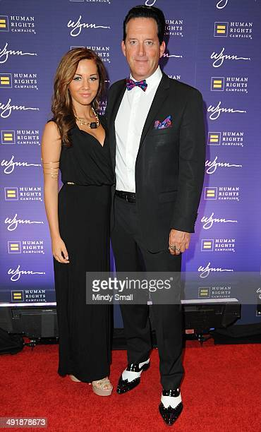 Morea Reveen and Anthony Cools arrive at the 9th Annual Human Rights Campaign Gala at the Wynn Las Vegas on May 17, 2014 in Las Vegas, Nevada.