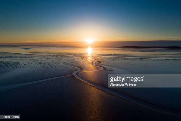 morecambe bay - lancashire stock pictures, royalty-free photos & images
