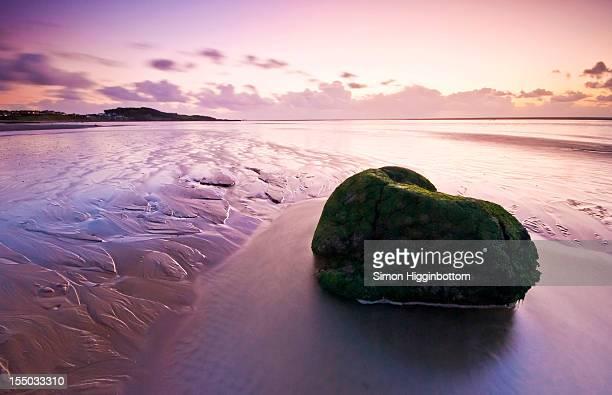 morecambe sunset, lancashire, england - simon higginbottom stock pictures, royalty-free photos & images