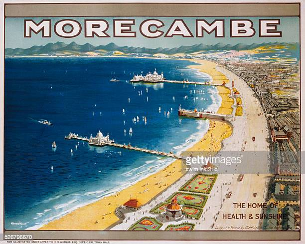 Morecambe Travel Poster by Warren Williams