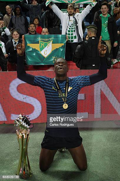 Moreirense's defender Diego Ivo from Brasil during the Portuguese League Cup Final between Moreirense FC v SC Braga at Estadio do Algarve on January...