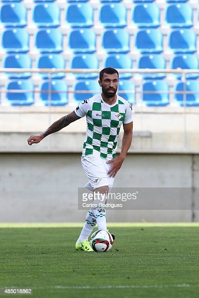 Moreirense's defender Marcelo Oliveira during the match between GD Estoril Praia and Moreirense FC at Antonio Coimbra da Mota Stadium on August 23...