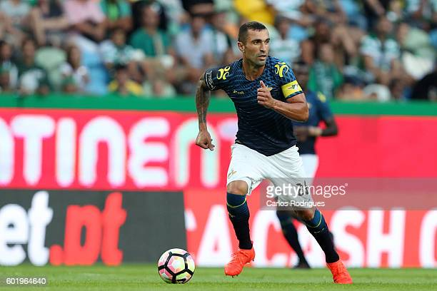 Moreirense«s defender Marcelo Oliveira from Brasil during the Portuguese Primeira Liga between Sporting CP and Moreirense FC at Estadio Jose Alvalade...