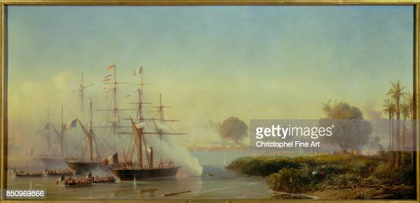 Morel Fatio Antoine Leon , Capture of Saigon by France, 17 February 1859 1859, Palace of Versailles.
