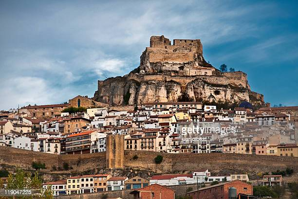 morella - castellon province stock pictures, royalty-free photos & images