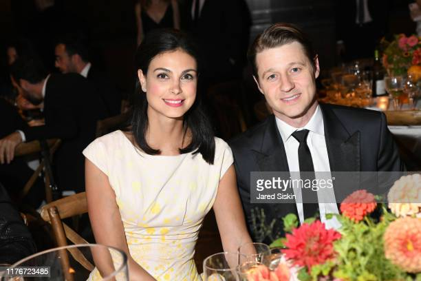 Morena Baccarin and Ben McKenzie attend Metropolitan Opera Opening Night Gala Premiere Of Porgy and Bess on September 23 2019 in New York City