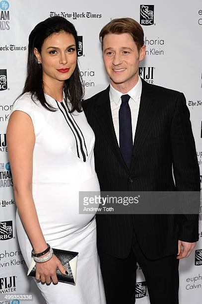 Morena Baccarin and Ben McKenzie attend the 25th annual Gotham Independent Film Awards at Cipriani Wall Street on November 30 2015 in New York City