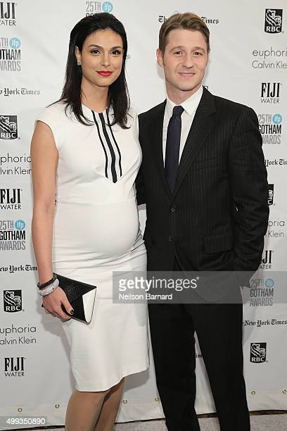 Morena Baccarin and Ben McKenzie attend the 25th IFP Gotham Independent Film Awards cosponsored by FIJI Water on November 30 2015 in New York City