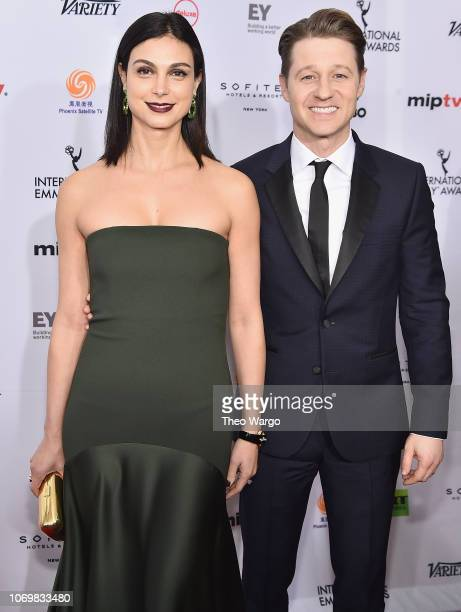 Morena Baccarin and Ben McKenzie attend the 46th Annual International Emmy Awards Arrivals at New York Hilton on November 19 2018 in New York City