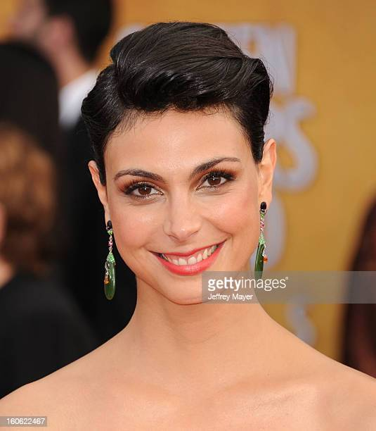 Morena Baccarin arrives at the 19th Annual Screen Actors Guild Awards at the Shrine Auditorium on January 27 2013 in Los Angeles California