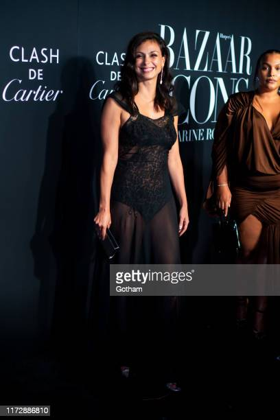 Morena Baccarin attends 2019 Harper's Bazaar ICONS at the Plaza Hotel on September 06 2019 in New York City