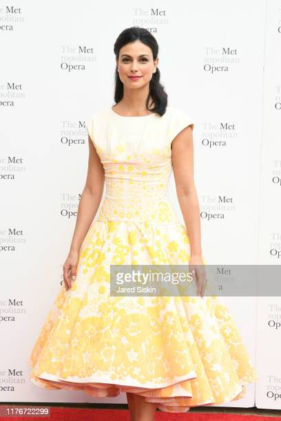 Morena Baccarin attends Metropolitan Opera Opening Night Gala Premiere Of Porgy and Bess on September 23 2019 in New York City