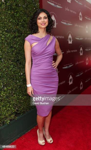 Morena Baccarin attends the 11th Annual John Varvatos Stuart House Benefit at John Varvatos on April 13, 2014 in Los Angeles, California.