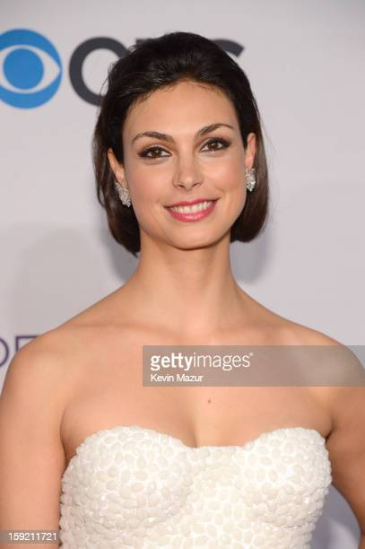 Morena Baccarin attends the 2013 People's Choice Awards at Nokia Theatre LA Live on January 9 2013 in Los Angeles California