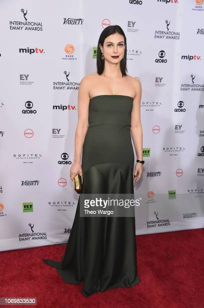 Morena Baccarin attends the 46th Annual International Emmy Awards Arrivals at New York Hilton on November 19 2018 in New York City